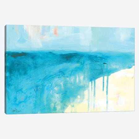 Coastal Blues II Canvas Print #ICS758} by Jan Weiss Canvas Artwork