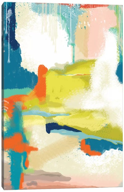 Deconstructed Landscape II Canvas Print #ICS759