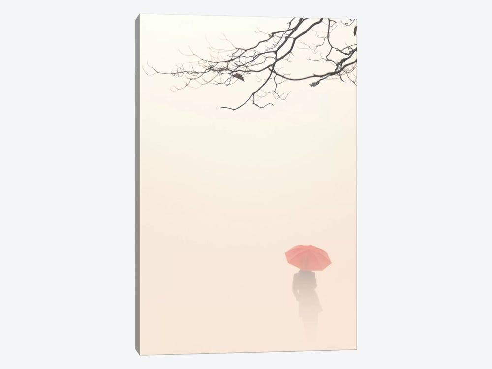 In Autumn Fog 1-piece Canvas Art