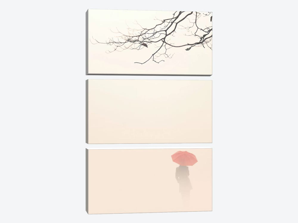 In Autumn Fog 3-piece Canvas Wall Art