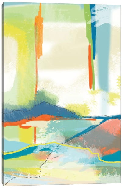 Deconstructed Landscape IV Canvas Art Print
