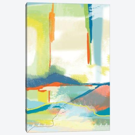 Deconstructed Landscape IV Canvas Print #ICS761} by Jan Weiss Canvas Print