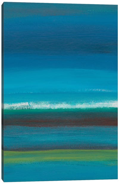 Night Coast I Canvas Art Print