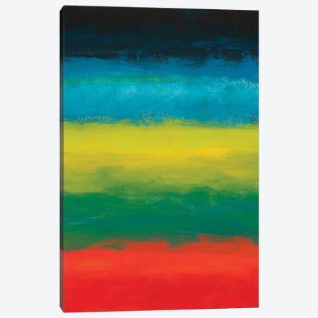 Night Coast II Canvas Print #ICS765} by Jan Weiss Canvas Art