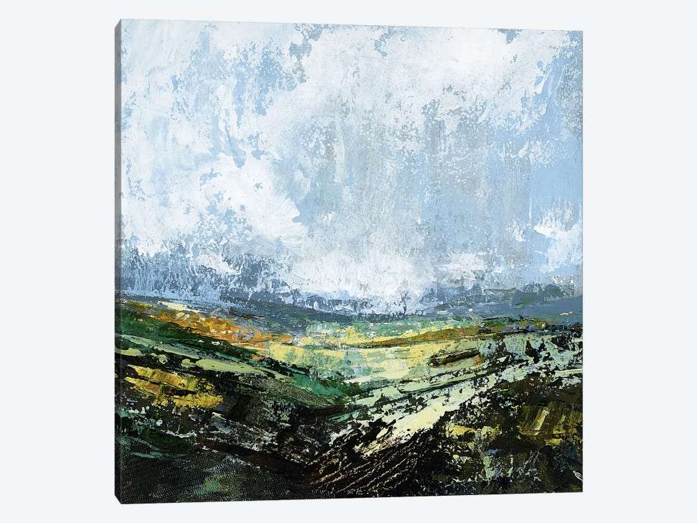 Rapeseed Hill by Emma Tweedie 1-piece Canvas Art Print