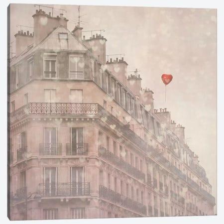 Heart Paris Canvas Print #ICS80} by Keri Bevan Canvas Print