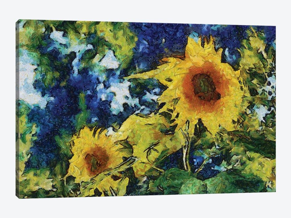 Sunflowers by Michelle Calkins 1-piece Canvas Art
