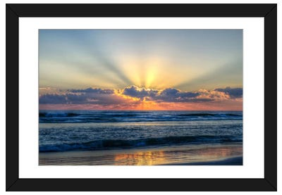 Radiant Dawn Framed Art Print