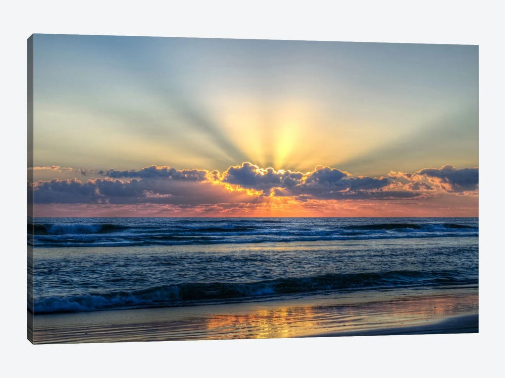 Radiant Dawn by Chuck Burdick 1-piece Canvas Wall Art