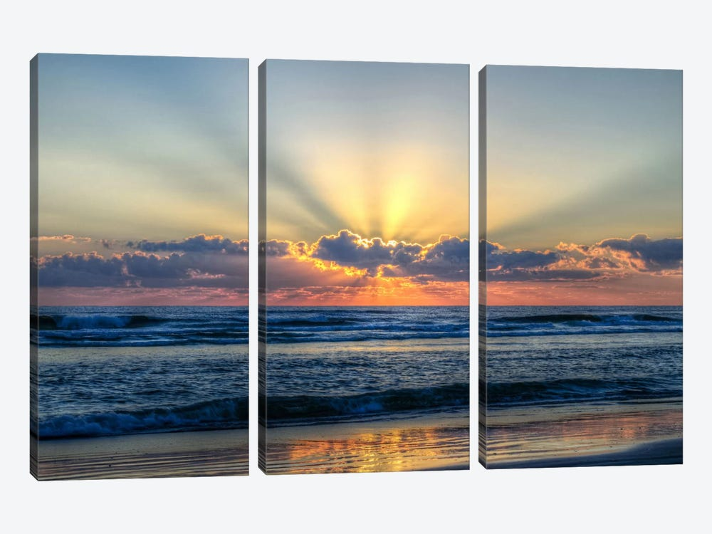 Radiant Dawn by Chuck Burdick 3-piece Canvas Art