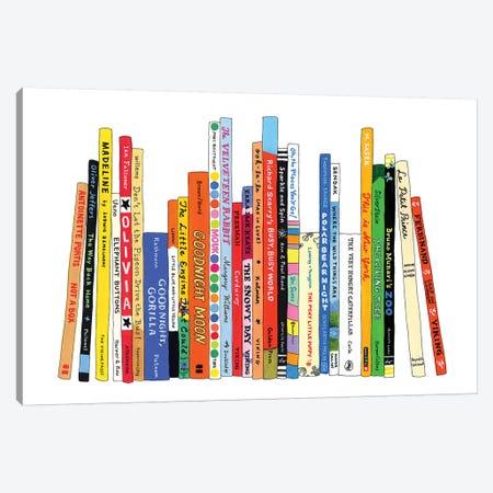 Kids Canvas Print #IDB13} by Ideal Bookshelf Canvas Artwork
