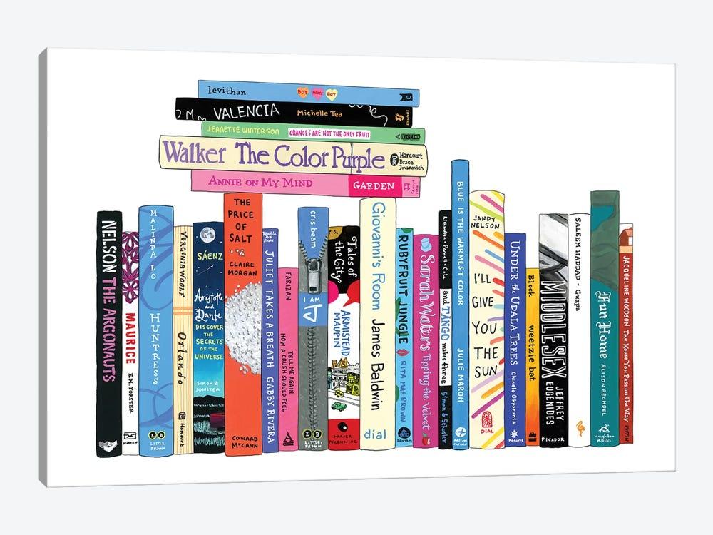 LGBTQ by Ideal Bookshelf 1-piece Art Print