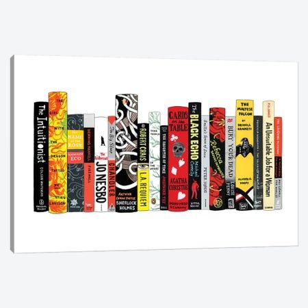 Mysteries Canvas Print #IDB16} by Ideal Bookshelf Canvas Art Print