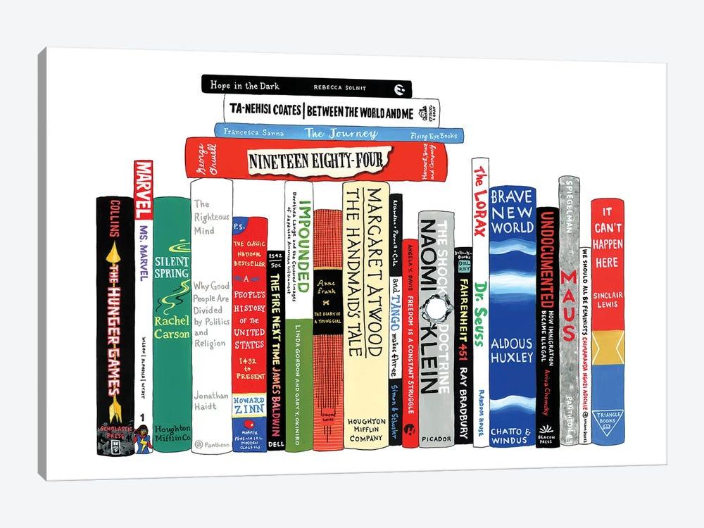 Resistance by Ideal Bookshelf 1-piece Canvas Wall Art