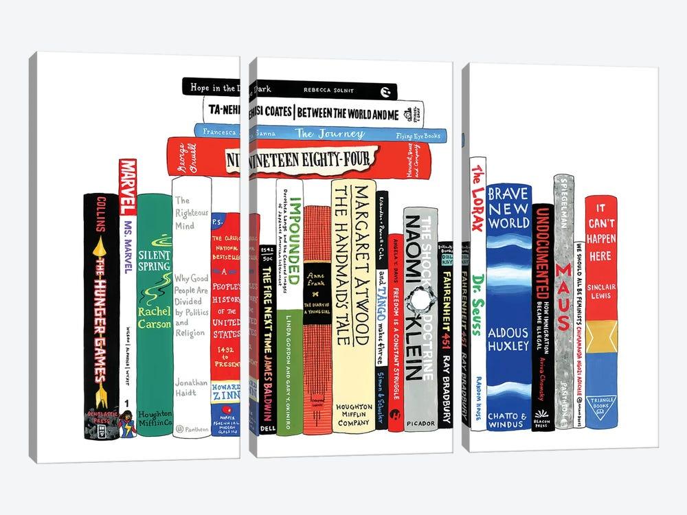 Resistance by Ideal Bookshelf 3-piece Canvas Wall Art