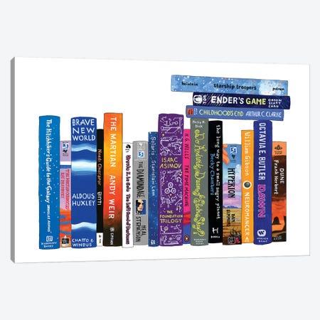Sci-Fi Canvas Print #IDB24} by Ideal Bookshelf Canvas Wall Art