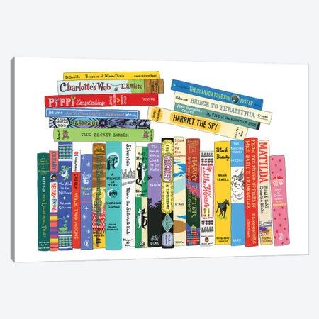Tweens Canvas Print #IDB27} by Ideal Bookshelf Canvas Art