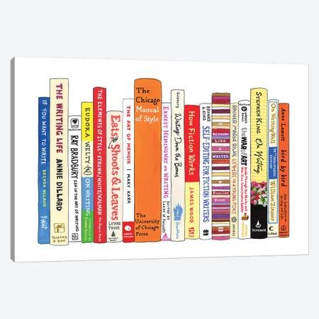 Writing 3-Piece Canvas #IDB28} by Ideal Bookshelf Canvas Print