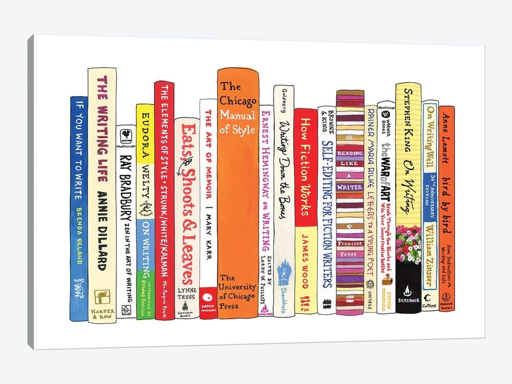 Writing by Ideal Bookshelf 1-piece Canvas Artwork