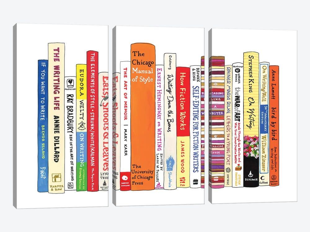 Writing by Ideal Bookshelf 3-piece Canvas Art