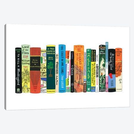 YA Canvas Print #IDB29} by Ideal Bookshelf Art Print