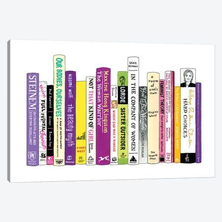 Feminism 3-Piece Canvas #IDB8} by Ideal Bookshelf Canvas Art Print