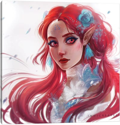 Red II Canvas Art Print