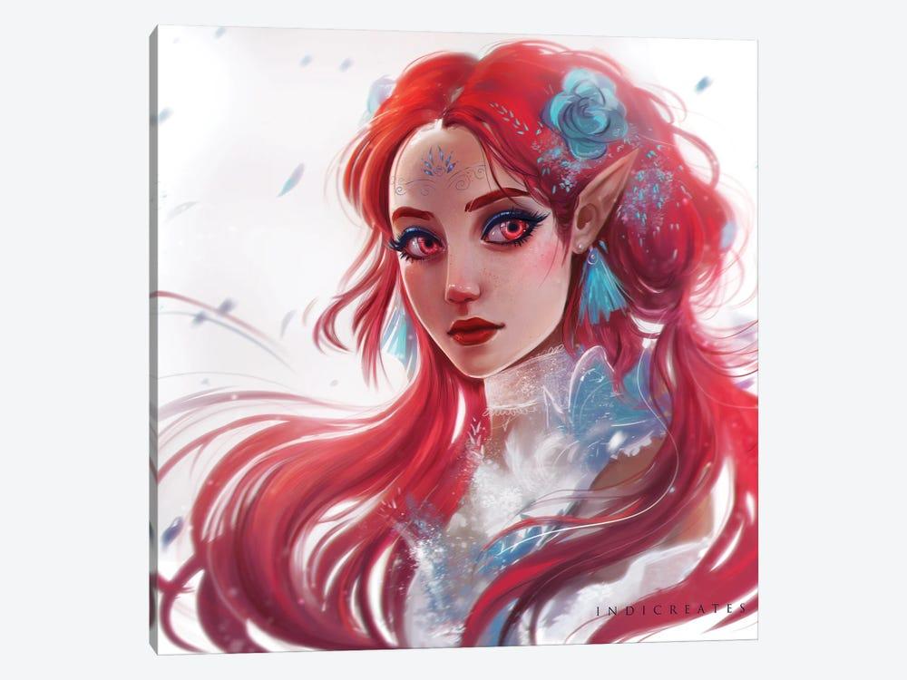 Red II by indicreates 1-piece Art Print
