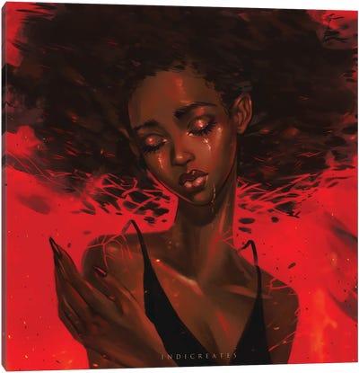 Red Canvas Art Print