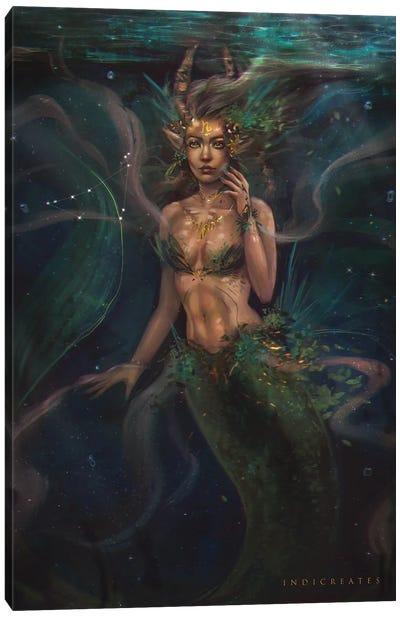 Capricorn Canvas Art Print