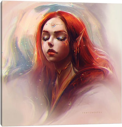 Cassandra - Regular Form Canvas Art Print