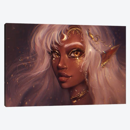 Priestess Canvas Print #IDC9} by indicreates Canvas Artwork