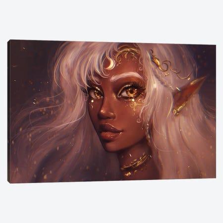 Priestess Canvas Print #IDC9} by indicreates Canvas Artwork
