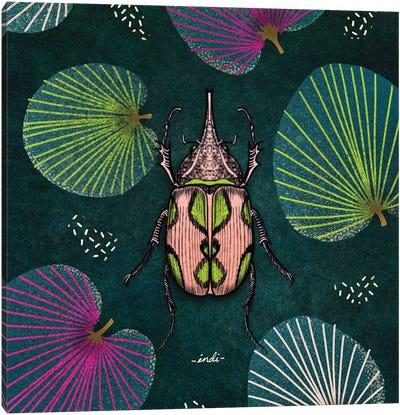Bug Square II Canvas Art Print