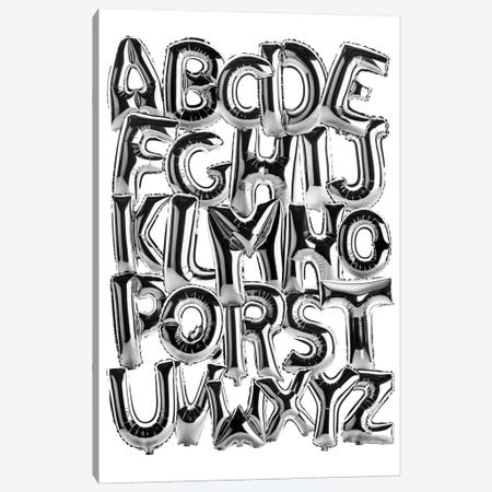 Foil Alphabet Canvas Print #IDR113} by Ink & Drop Canvas Art Print