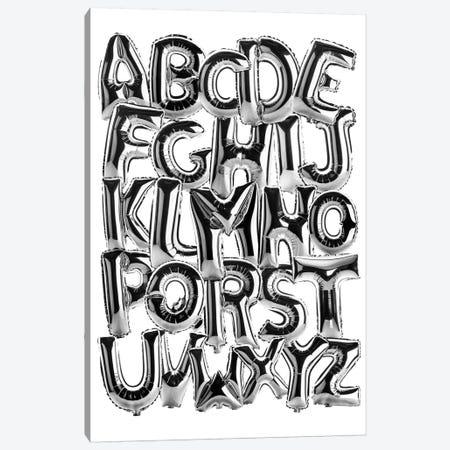 Foil Alphabet Canvas Print #IDR113} by Ink & Drop Canvas Art Print