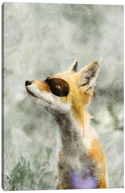 Super Fox Canvas Art Print