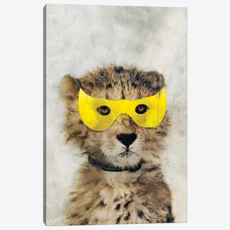Super Leopard Canvas Print #IDR119} by Ink & Drop Canvas Print
