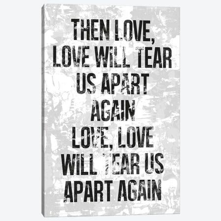 Love Will Tear Us Apart Canvas Print #IDR14} by Ink & Drop Canvas Art Print