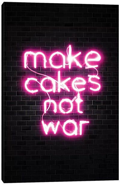 Make Cakes Pink Canvas Art Print