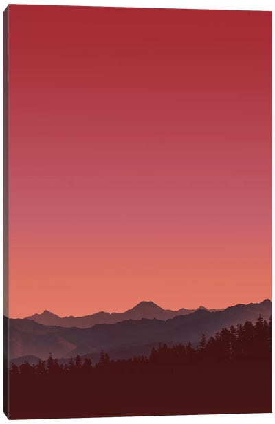 Sunset II Canvas Art Print
