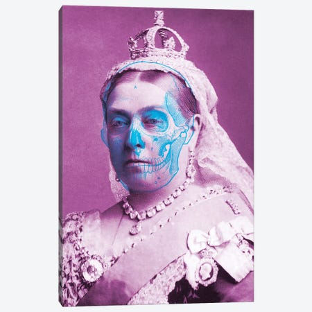 Queen Canvas Print #IDR37} by Ink & Drop Canvas Print