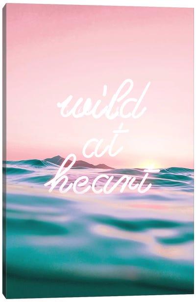 Wildatheart Canvas Art Print