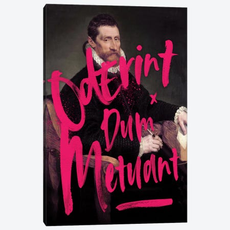 Oderint Dum Metuant Canvas Print #IDR47} by Ink & Drop Canvas Artwork