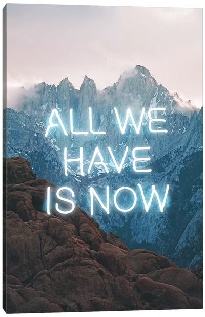 All We Have Canvas Art Print