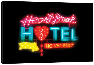 Heartbreak Hotel Canvas Art Print