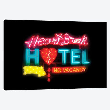 Heartbreak Hotel Canvas Print #IDR58} by Ink & Drop Canvas Artwork