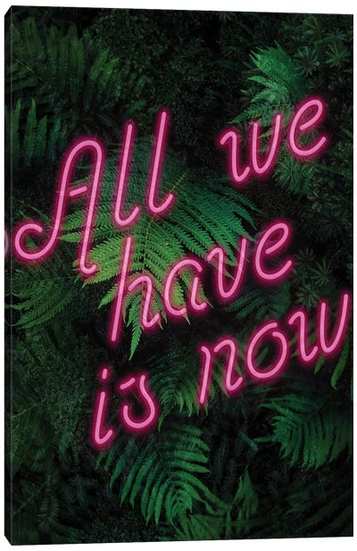 All We Have Is Now Canvas Art Print