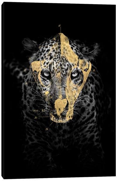 Gold Leopard Canvas Art Print