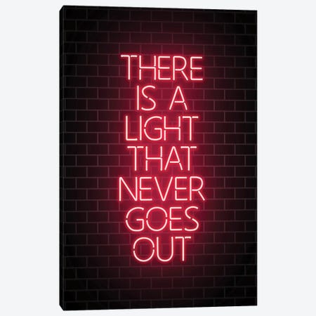 There Is A Light Canvas Print #IDR72} by Ink & Drop Canvas Art